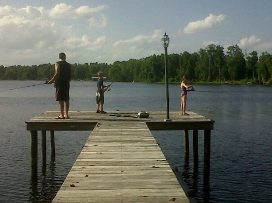 Dock Fishin'
